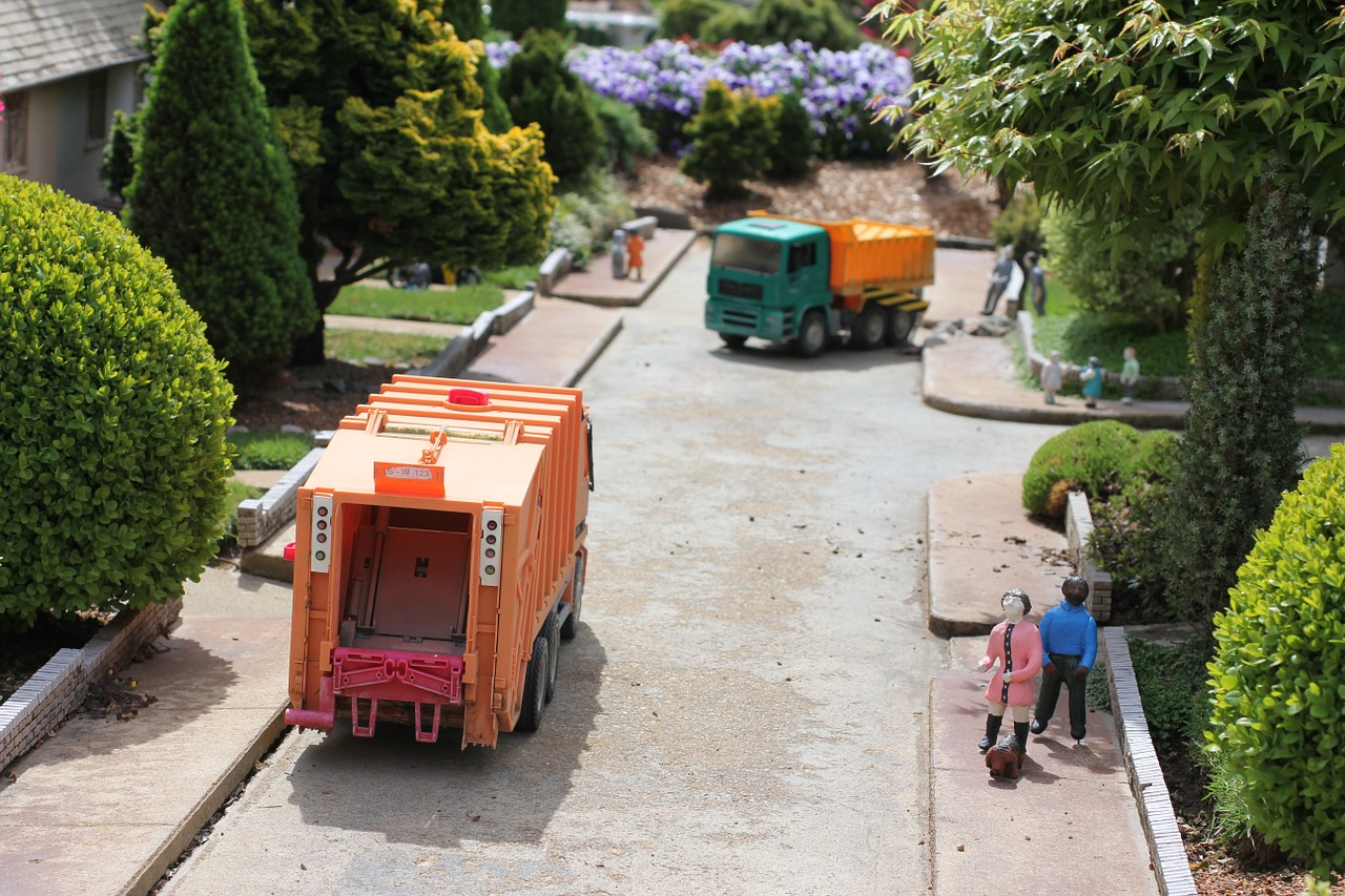 Profesjonalny wywóz śmieci